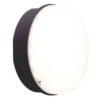 Image of Luceco LBM200B7S40 LED Bulkhead Black 7.5W