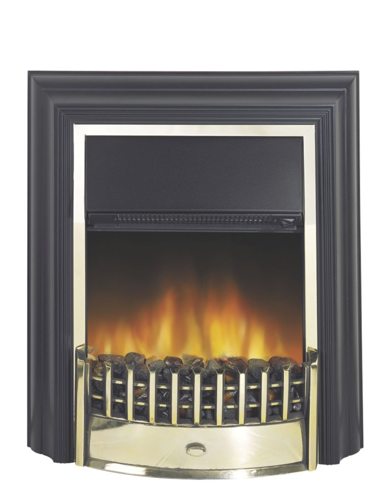 Image of Dimplex Cheriton Brass Switch Control Freestanding Electric Fire