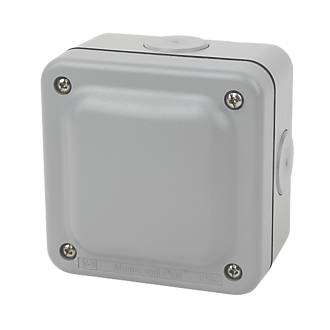 Outdoor Junction Boxes | Weatherproof Switches & Sockets ...