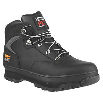 Image of Timberland Pro Euro Hiker Safety Boots Black Size 8