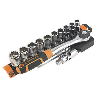 """Image of Magnusson 1/2"""" Drive 12-Point Socket Set 13 Pieces"""