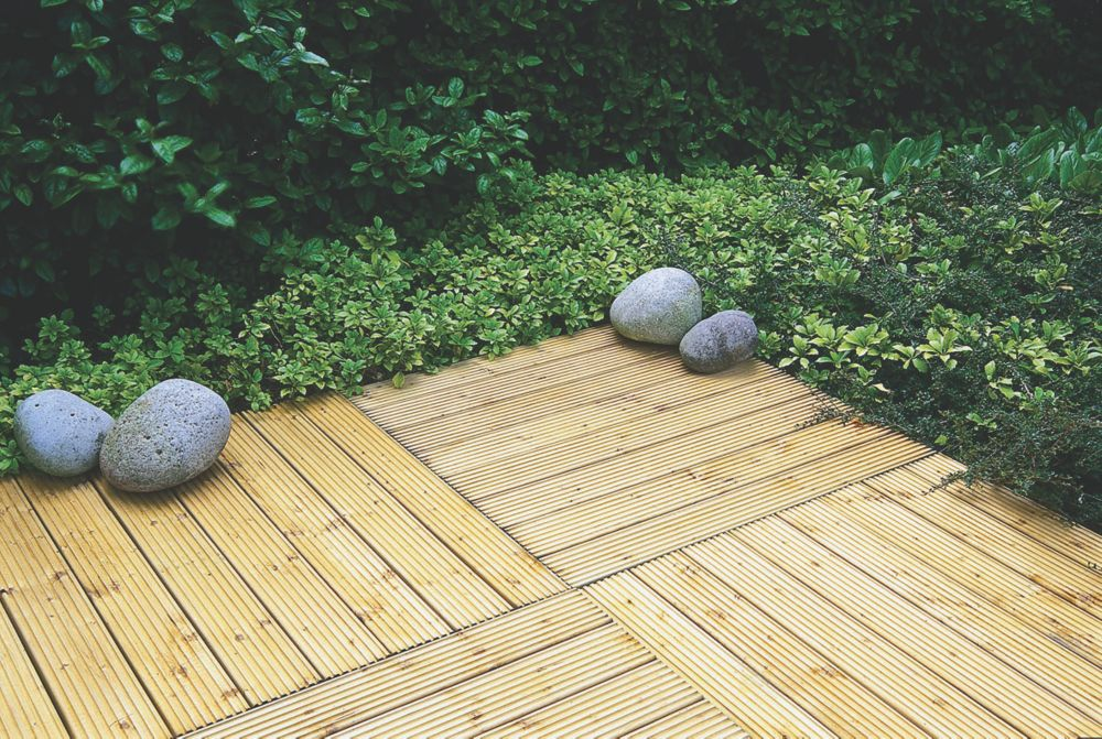 Image of Forest Patio Deck Tile Kit 1.2m