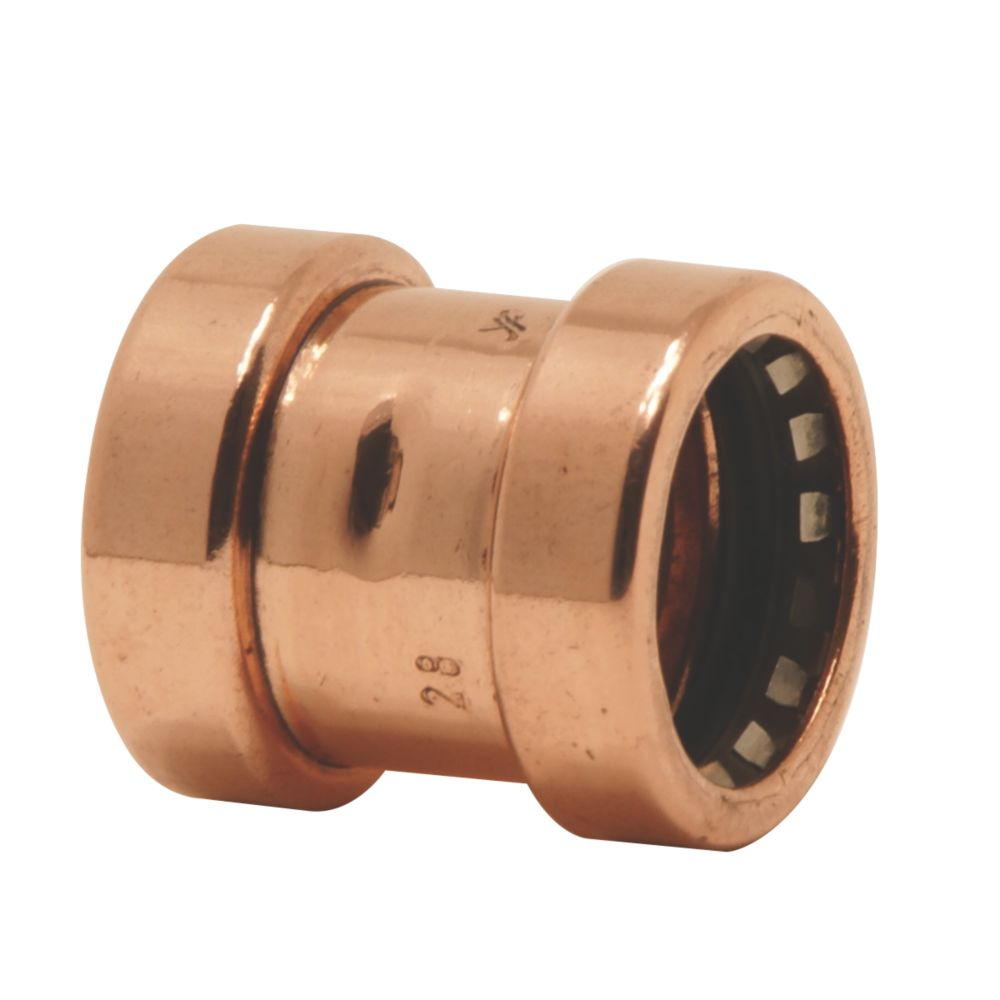 Image of Yorkshire Tectite Sprint Push-Fit Pipe Coupler 15mm