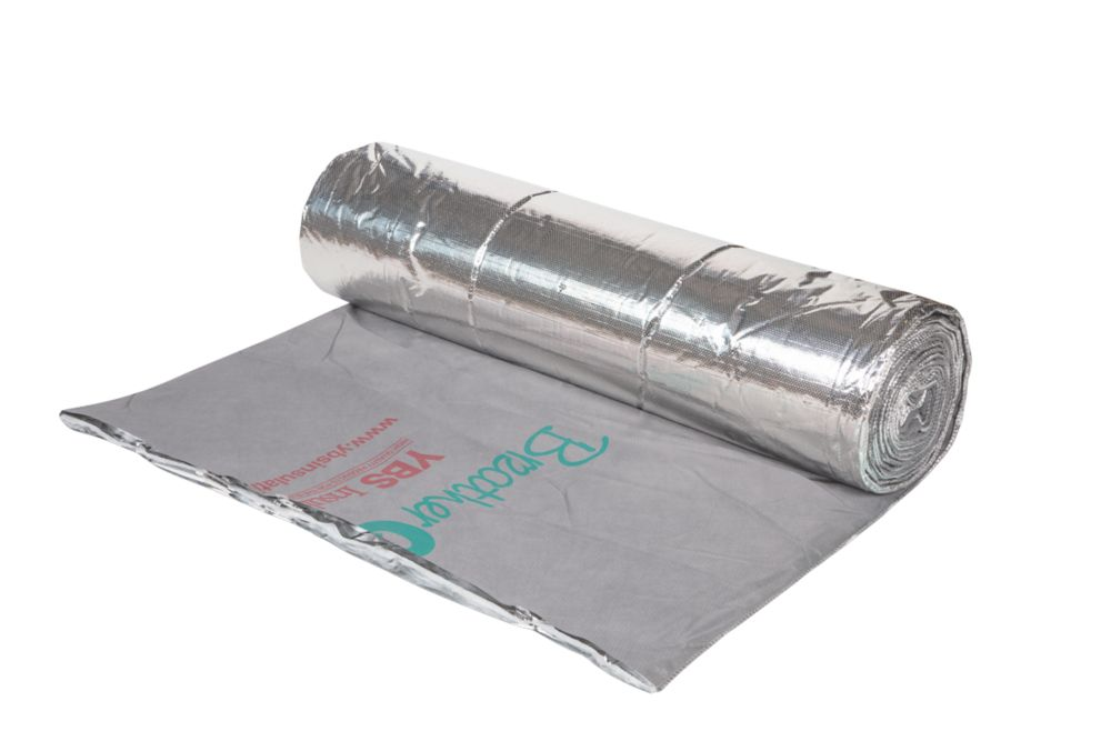 Image of YBS BreatherQuilt 2-in-1 Membrane & Insulation 1.2 x 10m