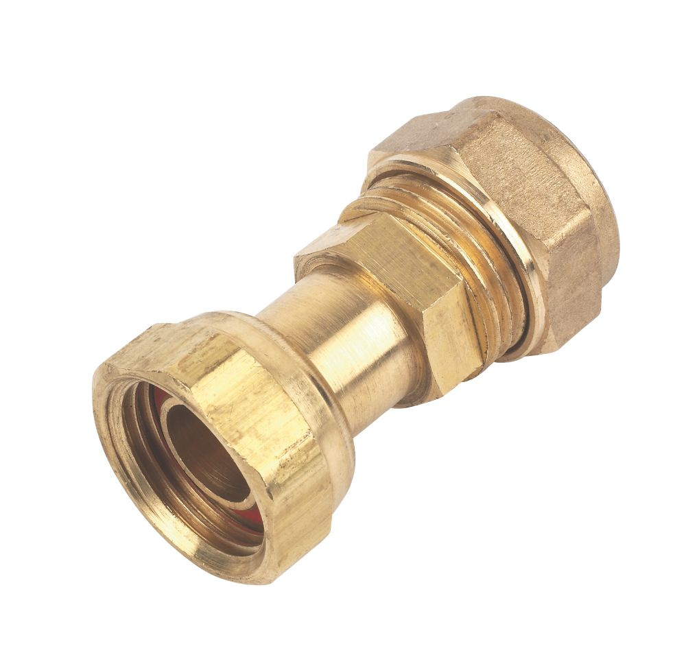 Image of P903SF.1 Straight Tap Connector 15mm x 12mm