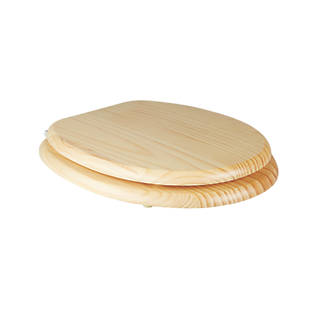 40cm round toilet seat. 360  View Cooke and Lewis Standard Closing Toilet Seat Pine Natural