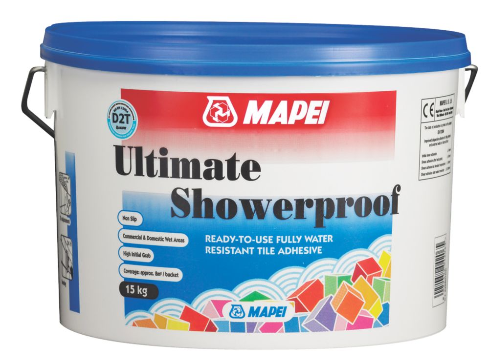 Image of Mapei Buildfix Wall Tile Adhesive Off White 15kg