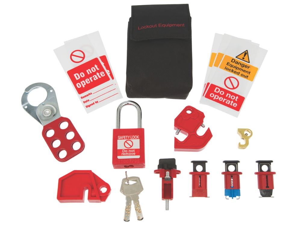 Image of Brady Deluxe Lockout Kit