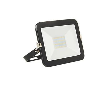 Image of Brackenheath iSpot LED Slimline Floodlight 20W Black Cool White