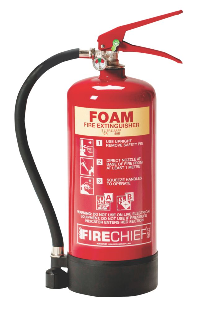 Image of Firechief XTR Foam Fire Extinguisher 3Ltr