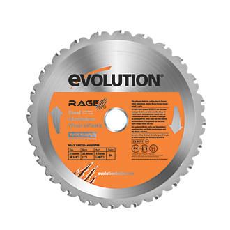 Image of Evolution Circular Saw Blade 210 x 25.4mm 24T