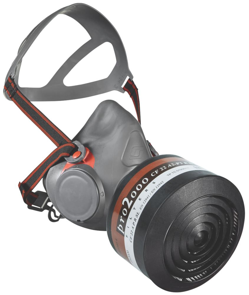 Image of Scott Safety Aviva 40 Half Mask with Filter A2-P3