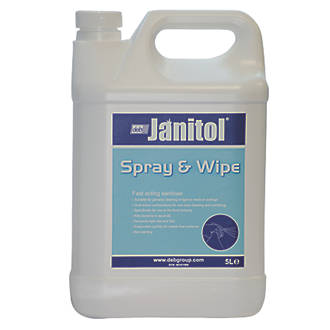 Image of Janitol Spray & Wipe Disinfectant Cleaner 5Ltr