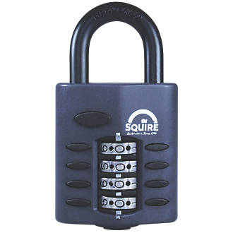 Image of Squire Zinc Die-Cast Construction All-Weather Combi Padlock 40mm