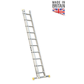 Image of Lyte 2-Section Aluminium Extension Ladders 5.98m