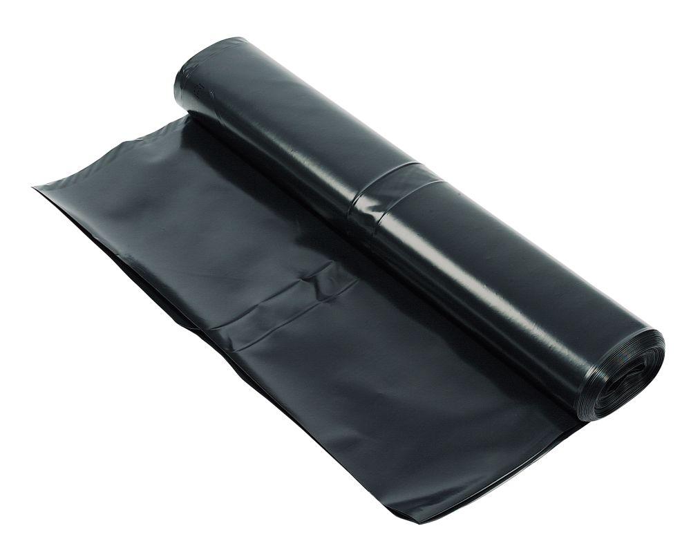 Image of Capital Valley Plastics Ltd Damp-Proof Membrane Black 1200ga 4 x 15m