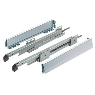 Image of Hafele Drawer Sides & Runners 450mm 2 Piece Set