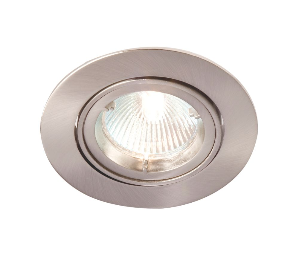 Image of Robus Adjustable Downlight Brushed Chrome 240V