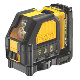 Image of DeWalt 10.8V Self-Levelling Cross-Line Green Beam Laser