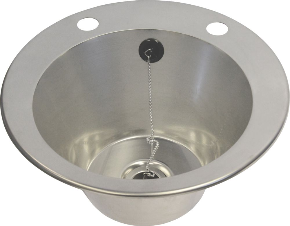 Image of Franke Inset Washbasin Stainless Steel 1-Bowl 392 x 160mm