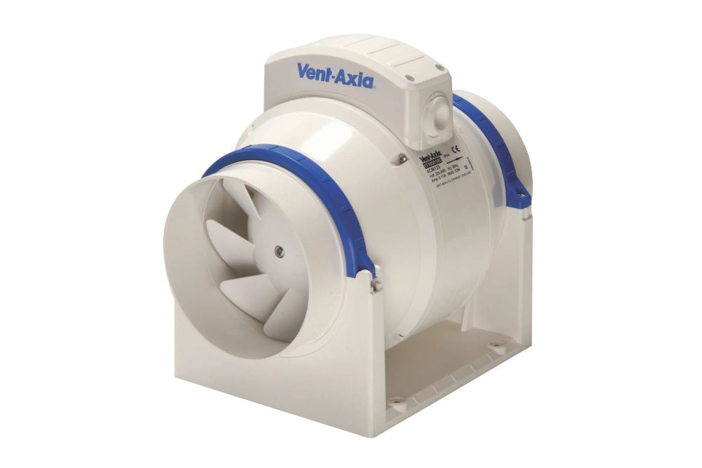 Image of Vent-Axia ACM100 0.2kW In-Line Bathroom Extractor Fan