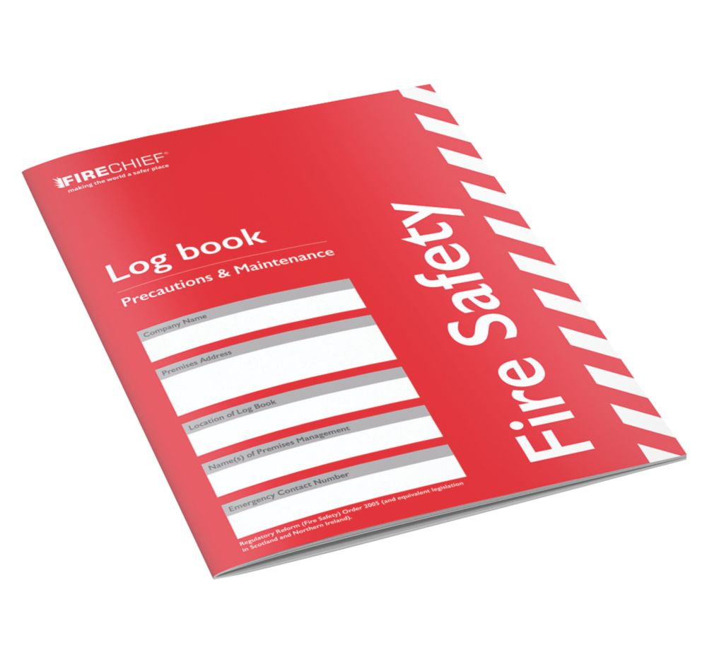 Image of Firechief Fire Safety Log Book