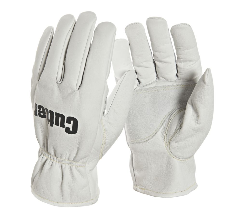 Image of Cutter CW200 Work Gloves White Large
