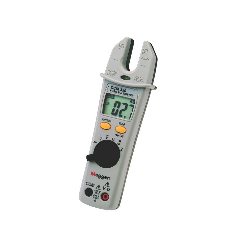 Image of Megger DCM330 Digital Fork Multimeter