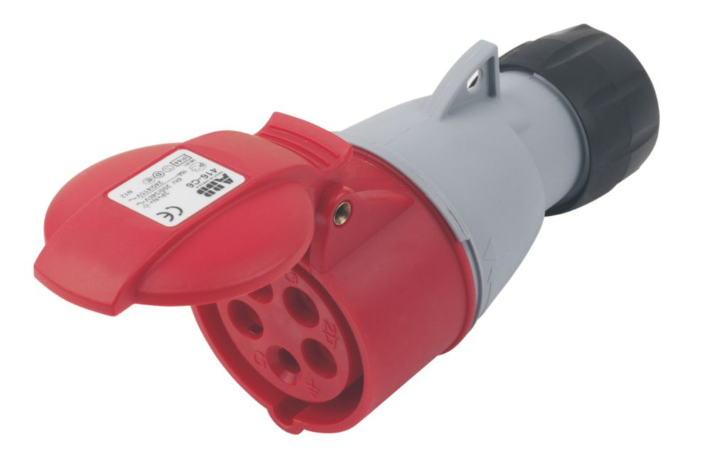 Image of ABB Connector 16A 4P+E 415V 6H IP44