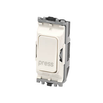 Image of MK 10A 2-Way 'Press' Switch White