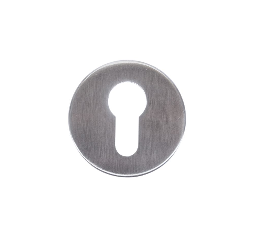 Image of Dorma Euro Profile Escutcheons Satin Stainless Steel 54mm 8 Pack