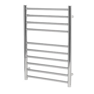 Image of Reina Luna Flat Ladder Towel Radiator 600 x 350mm Stainless Steel