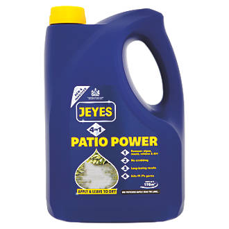 Image of Jeyes 4-in-1 Patio Power Outdoor Hard Surface Cleaner 4Ltr