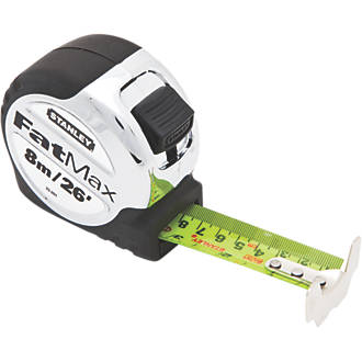 Image of Stanley FatMax 5-33-891 Pro 8m Tape Measure