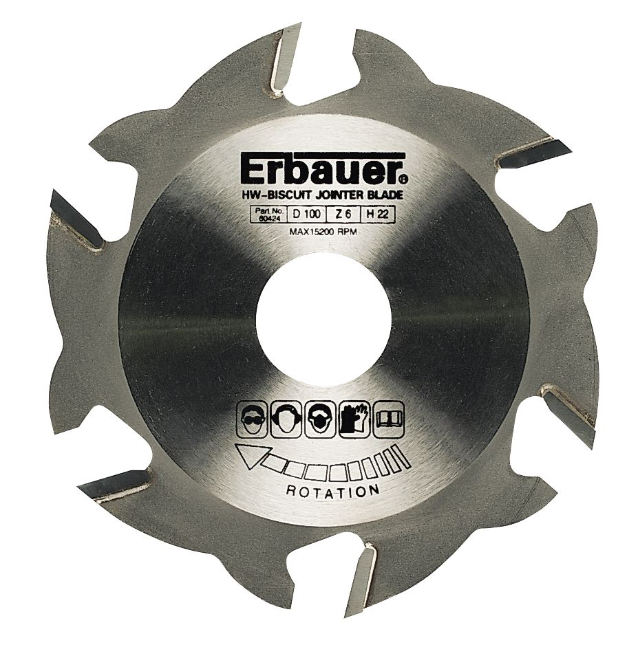 Image of Erbauer Biscuit Jointing Blade