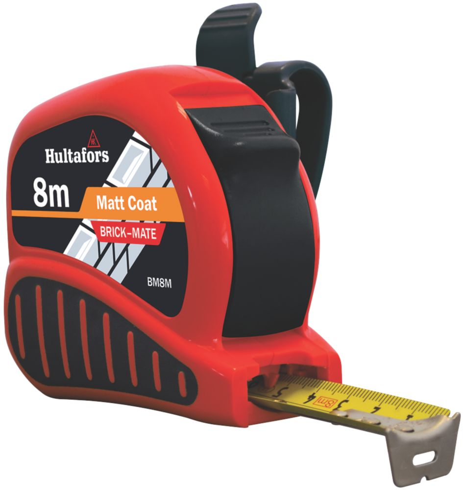 Image of Fisco BM8 8m Bricklayers Tape Measure