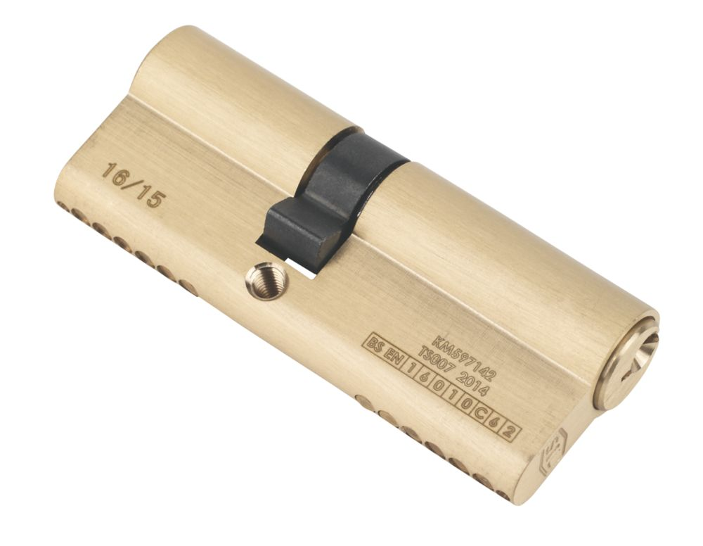 Image of Smith & Locke 1* 6-Pin Double Euro Cylinder Lock 35-45