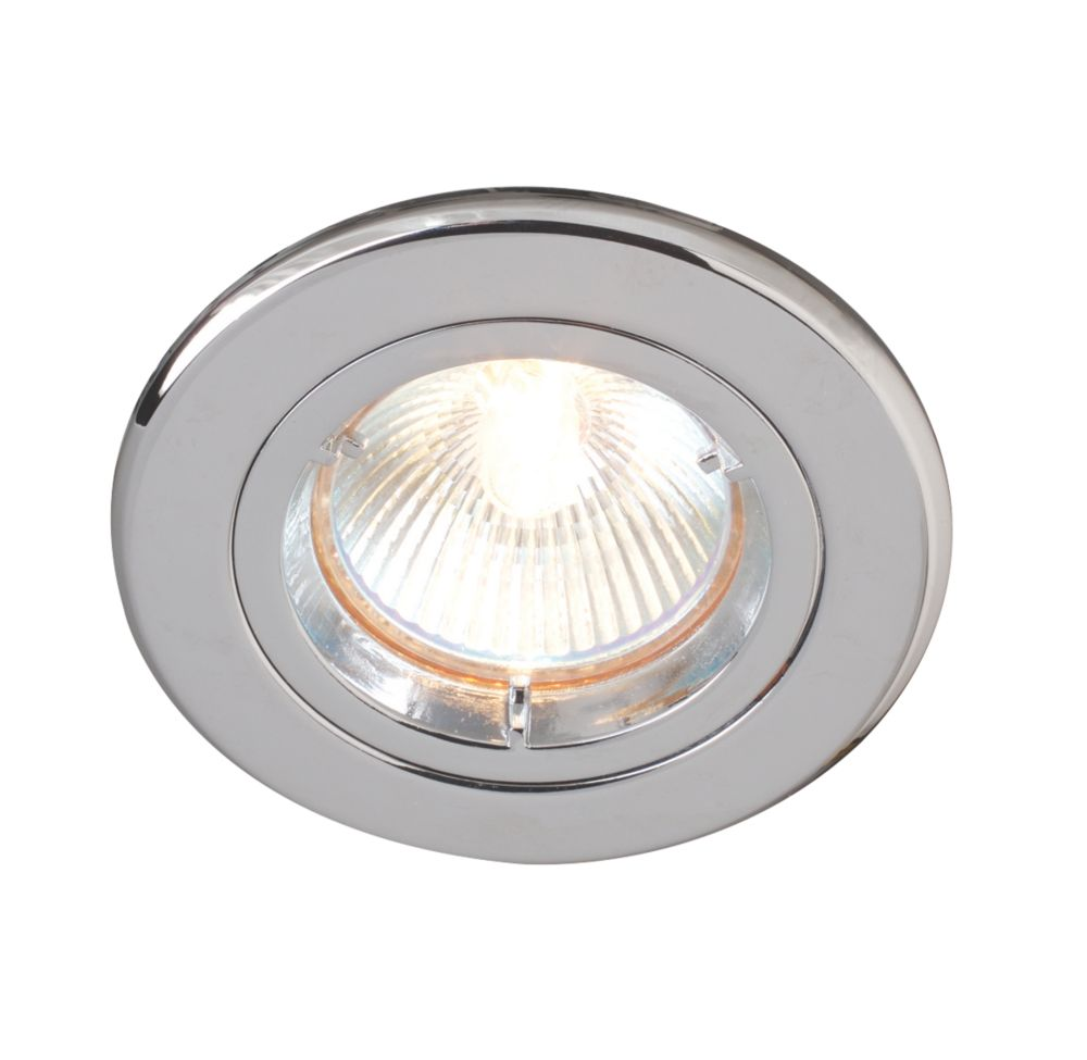 Image of Robus Fixed Downlight Polished Chrome 240V
