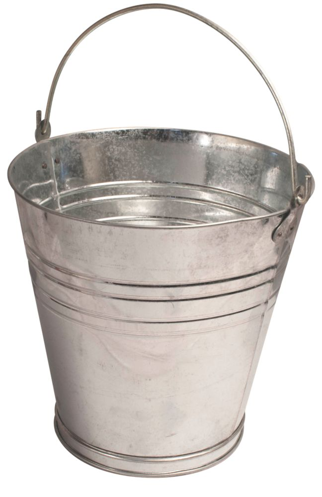 Image of Active Galvanised Steel Bucket 13Ltr