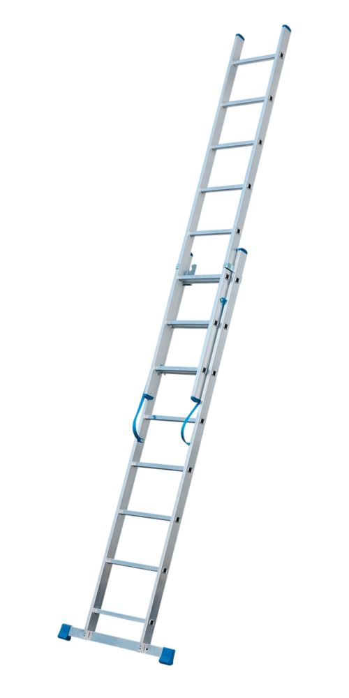 Image of C1A Aluminium Combination Ladder 2 x 8 Rungs 3.47m