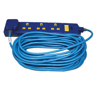Image of Masterplug 13A 4-Gang Extension Lead 10m