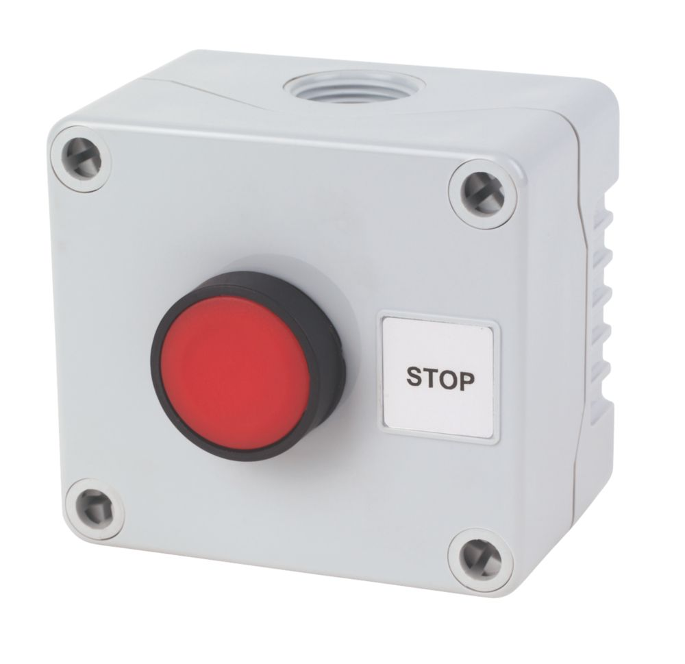 Image of Hylec 1-Way Stop Push Button