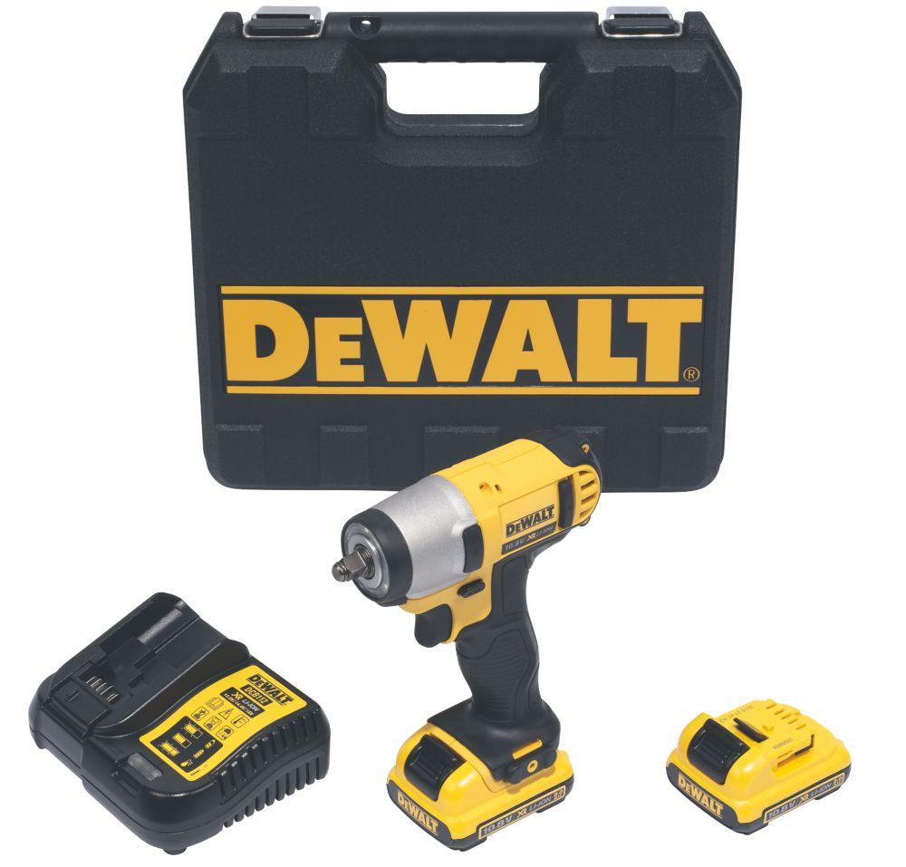 Image of DeWalt DCF813D2-GB 10.8V 2.0Ah Li-Ion XR Cordless Impact Wrench