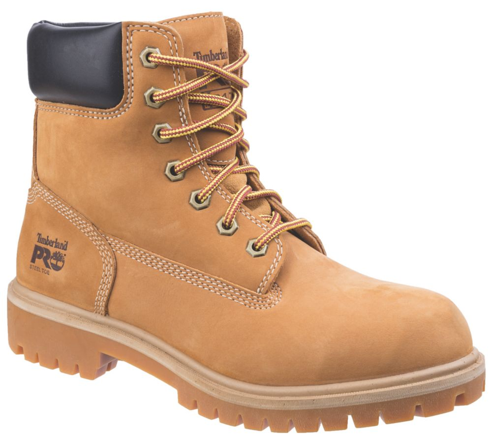 Image of Timberland Pro Direct Attach Ladies Safety Boots Honey Size 5