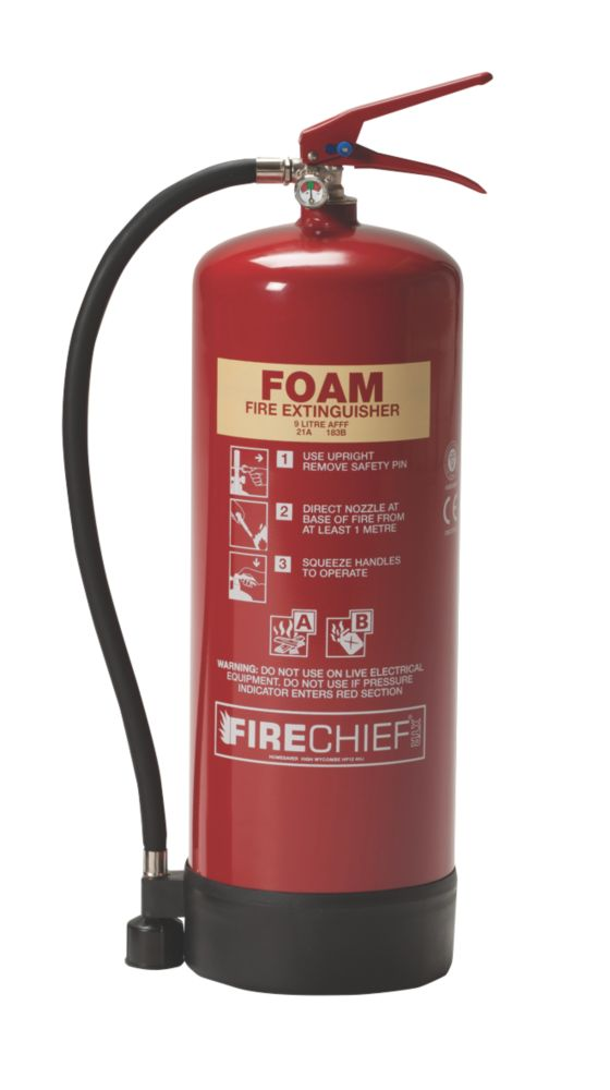 Image of Firechief Foam Fire Extinguisher 9Ltr