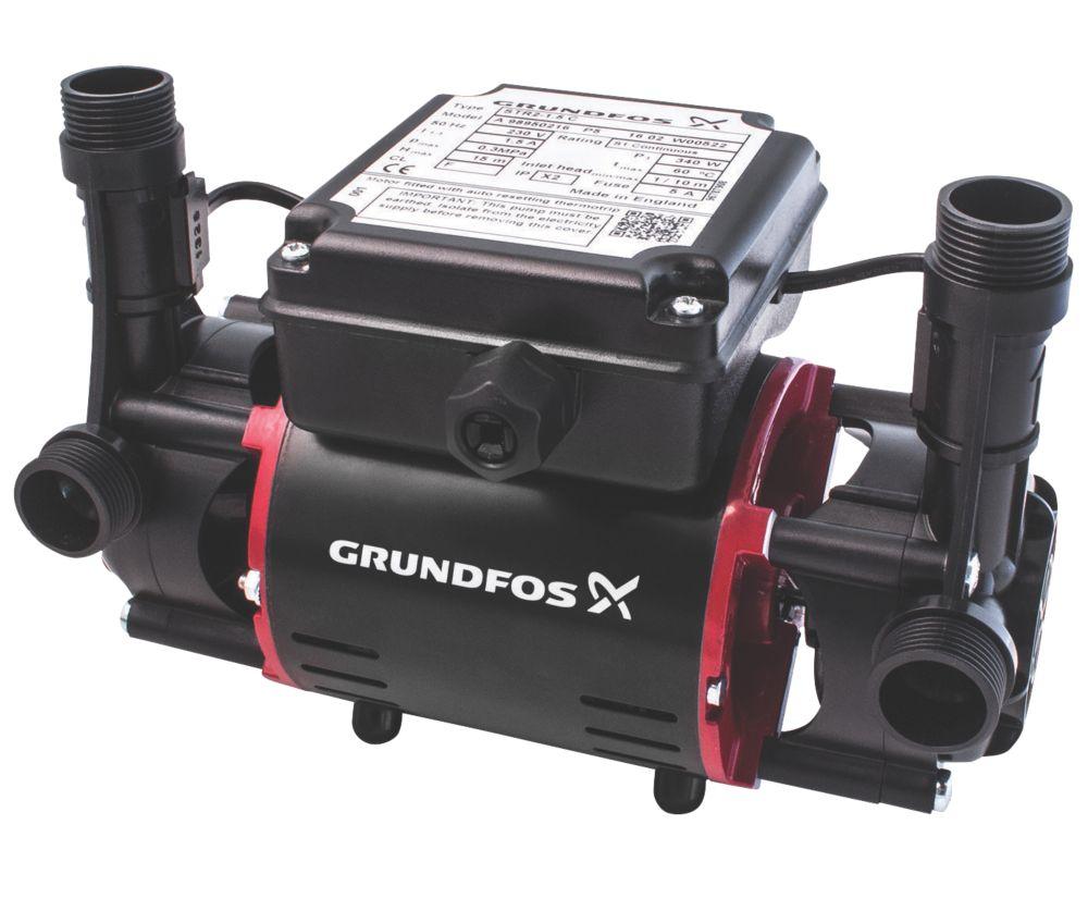 Image of Grundfos 98950217 Regenerative Twin Shower Pump 2.0bar