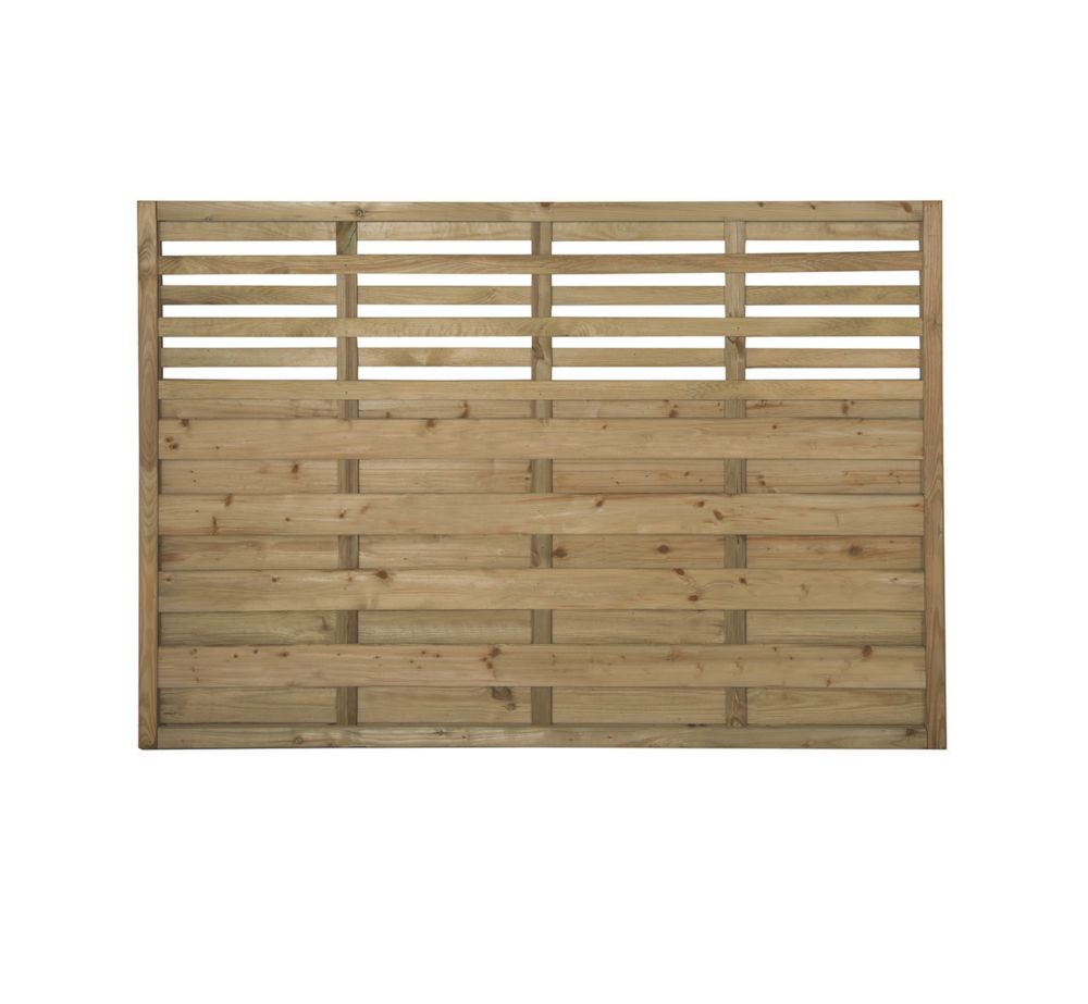 Image of Forest Kyoto Fence Panels 1.8 x 1.2m 3 Pack