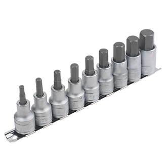 """Image of Teng Tools 1/2"""" Drive Hex Drive Socket Set 9 Pcs"""