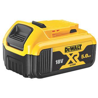 Image of DeWalt DCB184-XJ 18V 5.0Ah Li-Ion XR Slide Pack Battery