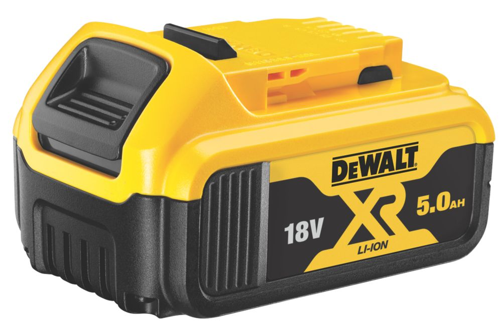 Image of DeWalt DCB184-XJ 18V 5.0Ah Li-Ion XR Slide Pack Battery